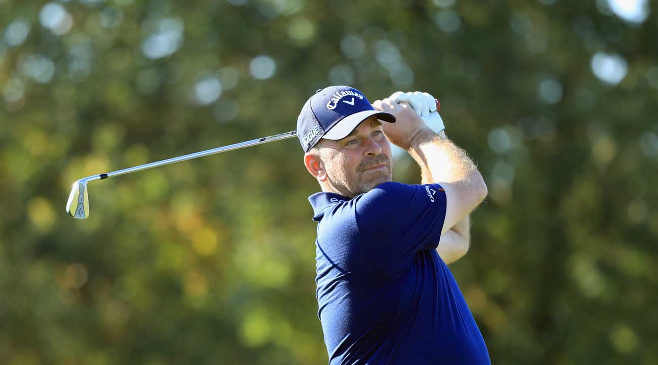 Thomas Bjørn, this week at the British Masters (© Getty Images)