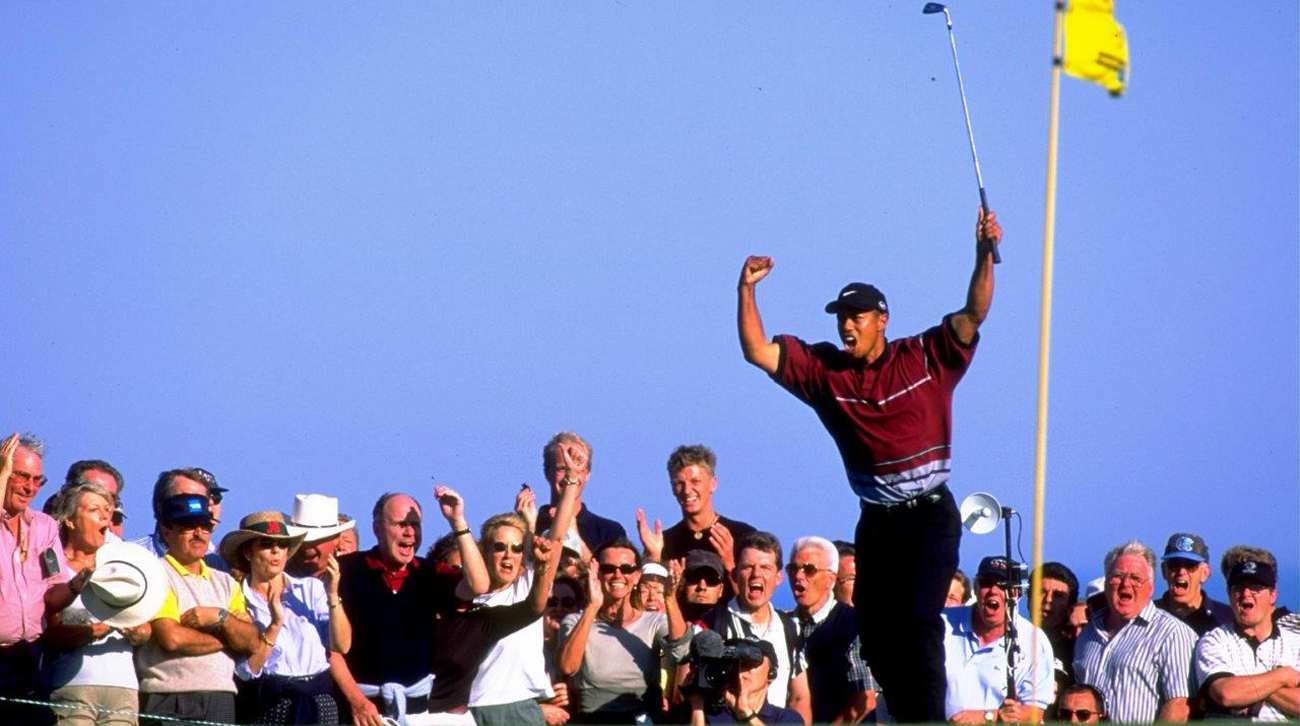 Tiger Woods, at the WGC - American Express Championship played at the Real Club Valderrama (foto © Getty Images)