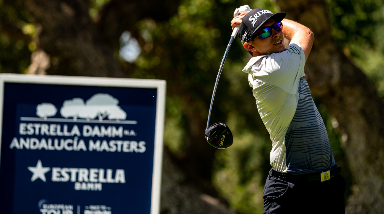 Catlin maintains advantage at Estrella Damm N.A. Andalucía Masters