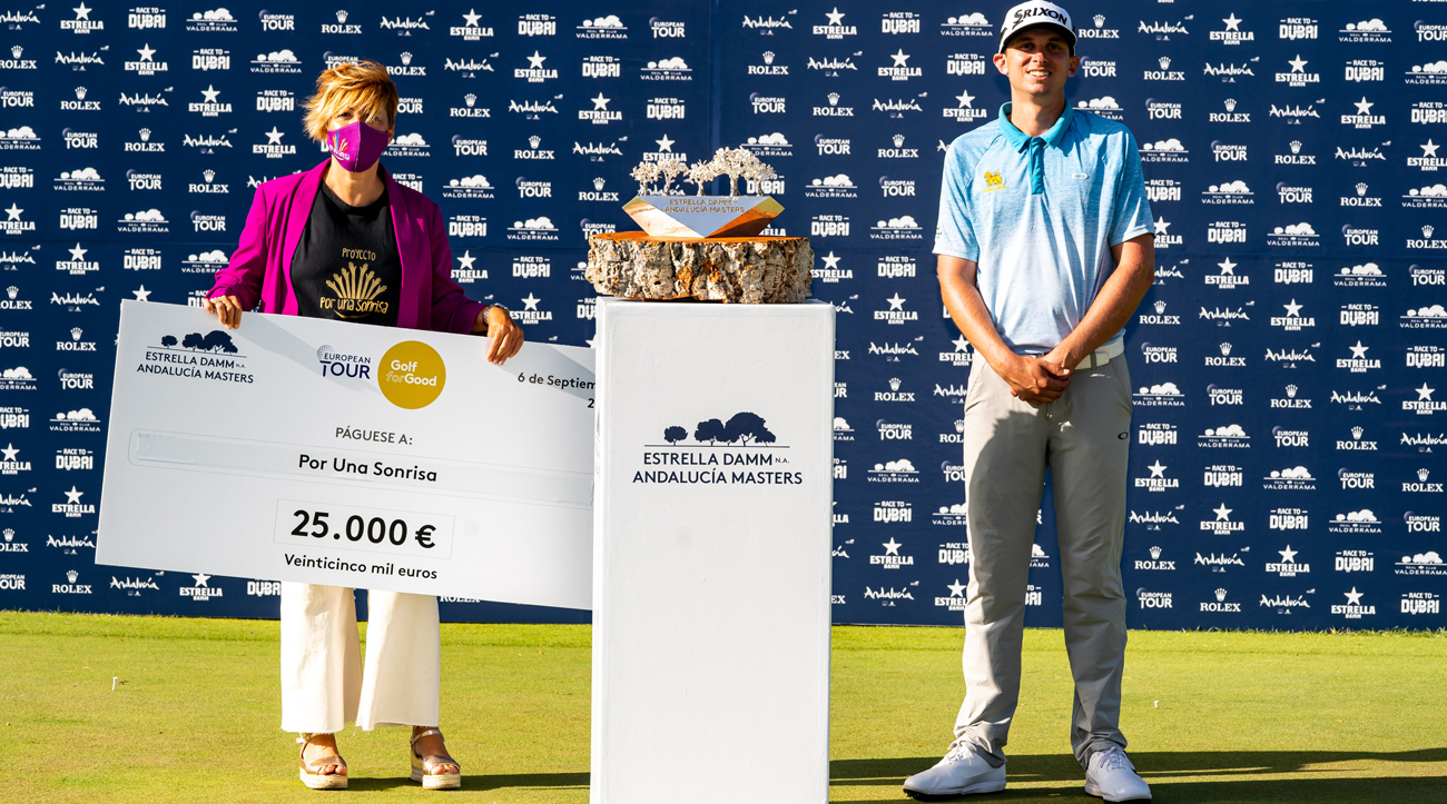 Golf for Good raises €100,000 for four charities at the Estrella Damm N.A. Andalucía Masters
